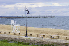 Coastal Lifeguard Stand Stock Images