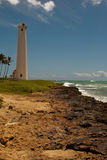 Coastal lighthouse. Barber's Point Lighthouse, Oahu, Hawaii Stock Photo