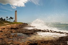 Coastal Lighthouse Royalty Free Stock Photos