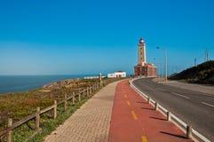 Coastal lighthouse royalty free stock image
