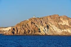 The coastal lighthouse. Stock Photo