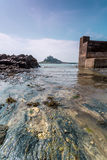 Coastal location around st michaels mount in cornwall england uk Stock Photo