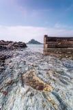 Coastal location around st michaels mount in cornwall england uk Royalty Free Stock Photo