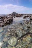 Coastal location around st michaels mount in cornwall england uk Royalty Free Stock Photos