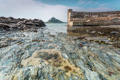 Coastal location around st michaels mount in cornwall england uk Stock Image