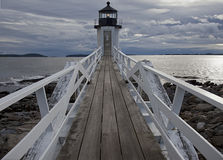 coastal Maine lighthouse Stock Image