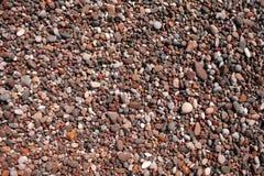 Coastal Marine wet pebbles for background Stock Image