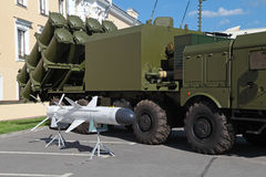 Coastal missile complex Royalty Free Stock Photography