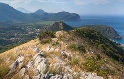 Coastal mountain landscape, Montenegro Royalty Free Stock Photography