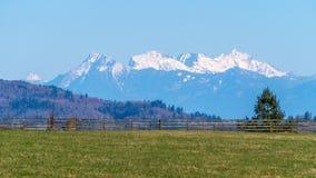 Coastal Mountain Range Royalty Free Stock Photos