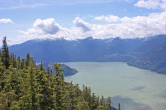 Coastal Mountains, Canada Stock Image