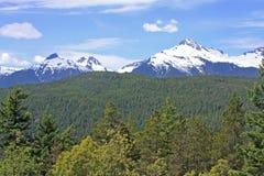 Coastal Mountains, Canada. Coastal Mountains in British Columbia Royalty Free Stock Image