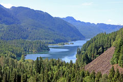 Coastal Mountains, Canada Royalty Free Stock Photo