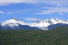 Coastal Mountains, Canada Stock Photos