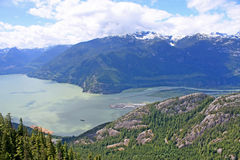 Coastal Mountains, Squamish Royalty Free Stock Image