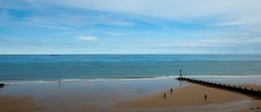 Coastal panorama Stock Images