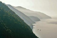 Coastal panorama Stock Photography