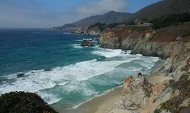 Coastal paradise. Off the California coast Stock Image