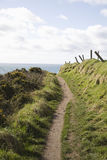 Coastal path Stock Images