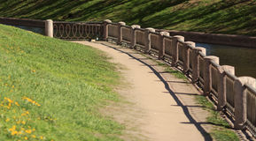 Coastal path Stock Images