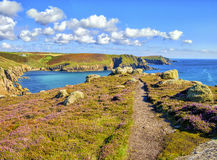 Coastal Path, Cornwall, England Royalty Free Stock Photography