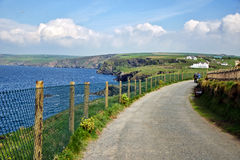Coastal Path ~ Port Isaac Stock Photo