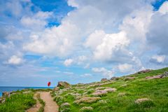 Free Coastal Pathway In St Ives Stock Image - 120255161