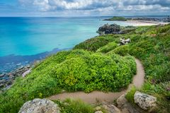 Free Coastal Pathway In St Ives Stock Photo - 124434610