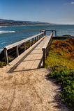 Coastal Pathway Stock Photography