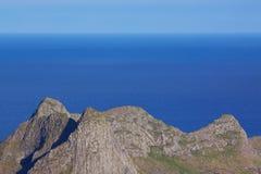 Coastal peaks Royalty Free Stock Images