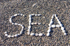 Coastal pebble Royalty Free Stock Photos