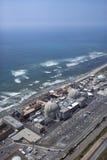 Coastal power plant. Royalty Free Stock Images