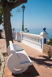 Nerja coastline Stock Photo