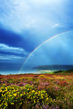 Coastal Rainbow Stock Photo