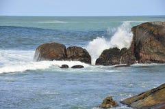 Coastal reefs Royalty Free Stock Photography