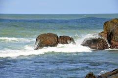Coastal reefs Stock Image
