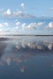 Coastal reflection Stock Photography