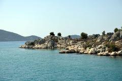 Coastal Regeion  near Kenkova, Turkey Stock Photos