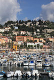 Coastal resort in Menton Stock Photo