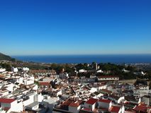 Coastal Resort Town of Mijas in Spain Royalty Free Stock Photos