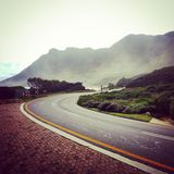 Coastal ride. Riding my bike along the coastline of the western cape south africa stock image