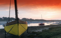 coastal river in Brittany Stock Photography