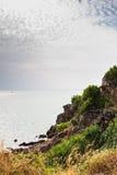 Coastal road at Chanthaburi, Thailand  Stock Image