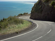 Coastal Road Royalty Free Stock Images