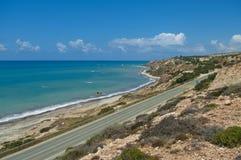 Coastal road Stock Photos