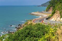 Coastal road Royalty Free Stock Photo
