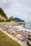Coastal Road and Sea Stock Photos