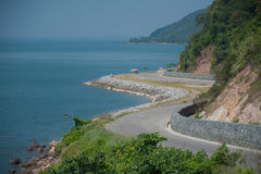 Coastal road. Stock Photography