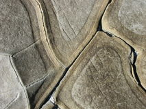 Coastal Rock Abstract Stock Photo
