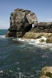 Coastal Rock formation Stock Images